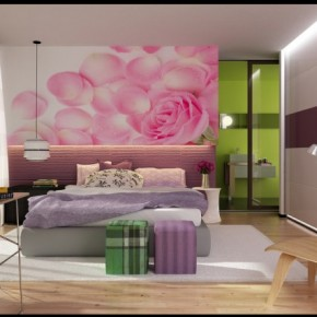 Pink and Purple Smooth Fresh - Amazing Colorful Bedrooms