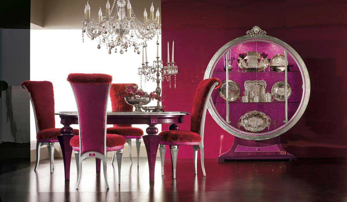 Elegant Luxury Dining Room Set by AltaModa