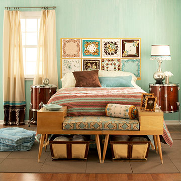 Vintage Retro Bedroom Design Ideas Interior Design