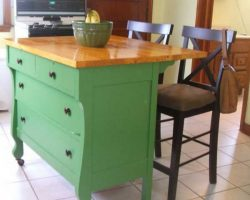 20 Inexpensive Kitchen Island Ideas