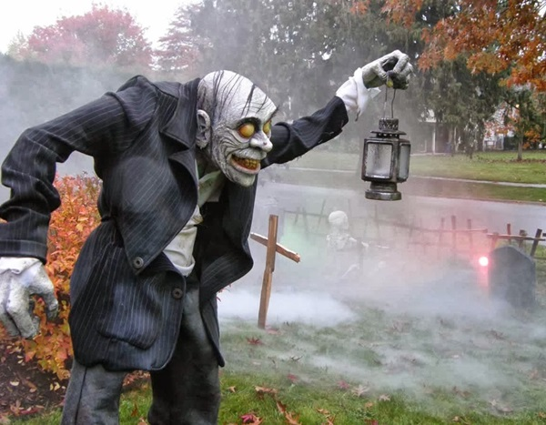 20 Halloween Yard Decoration Ideas