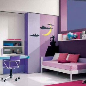 Soft-Purple-Fresh-Teenage-Girls-Bedroom
