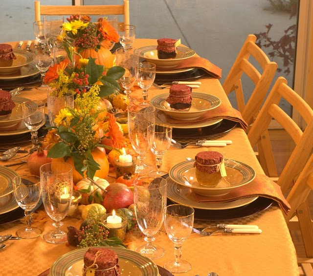 Thanksgiving indoor decoration ideas Simple thanksgiving table decorations