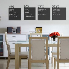 The Best Inspiration Wall Stickers Chalkboard In Dining Room