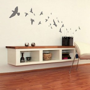 The Best Inspiration Wall Stickers Flock Of Birds
