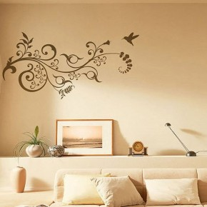 The Best Inspiration Wall Stickers Floral Motif Design