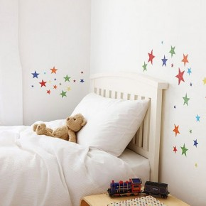 The Best Inspiration Wall Stickers Full Color Stars Kids Room