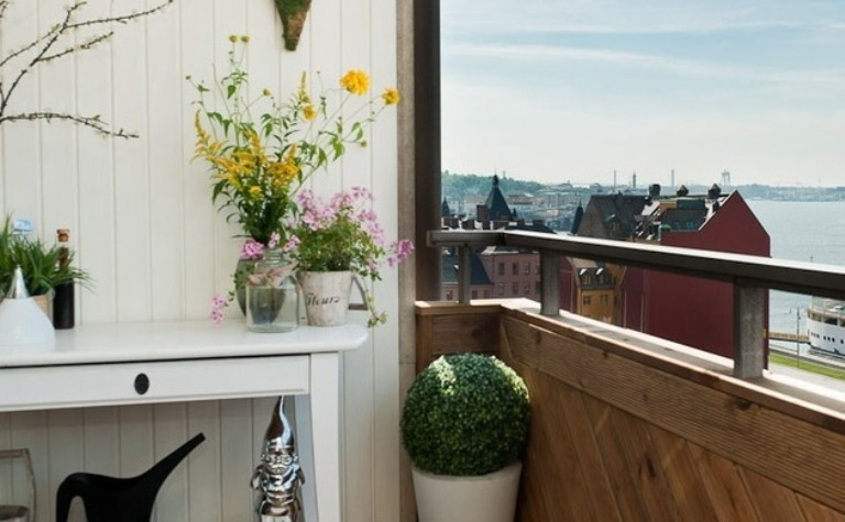 The Best Modern Apartment Balcony Plant Decoration