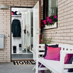 The Best Modern Apartment Entrance in White Chair