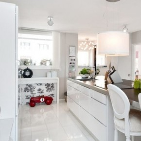 The Best Modern Apartment White Clean Kitchen