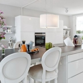 The Best Modern Apartment White Kitchen