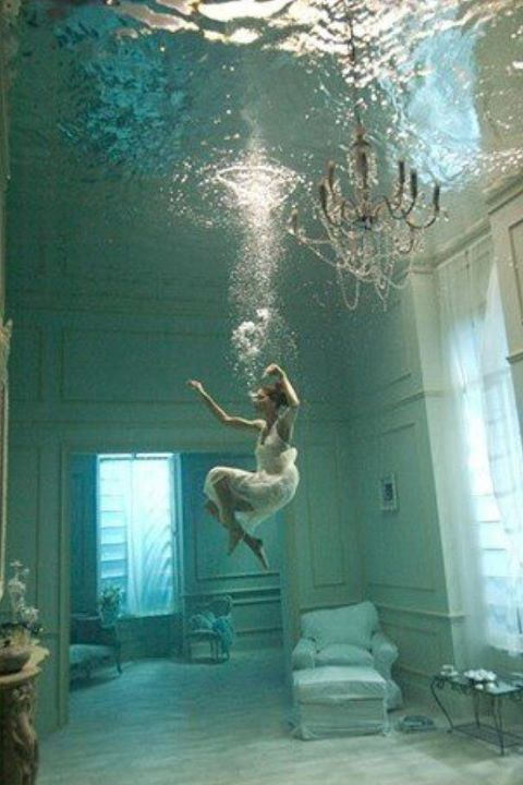 Underwater Home Interior Design Center Inspiration