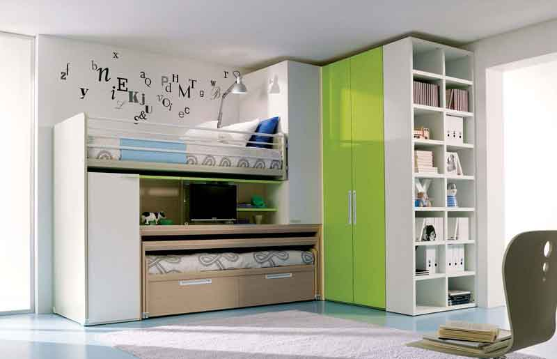 ... -Bunk-Bed-Teenage-Girls-Bedroom-The Best Teenage Girls Bedroom Ideas