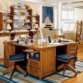 Wood-Brown-Multiple-Table-Kids-Study-Room