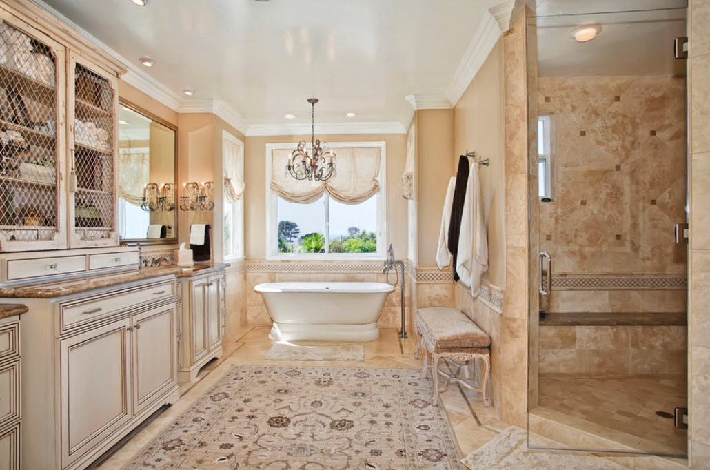Beautiful marble floor bathroom design drawhome.com
