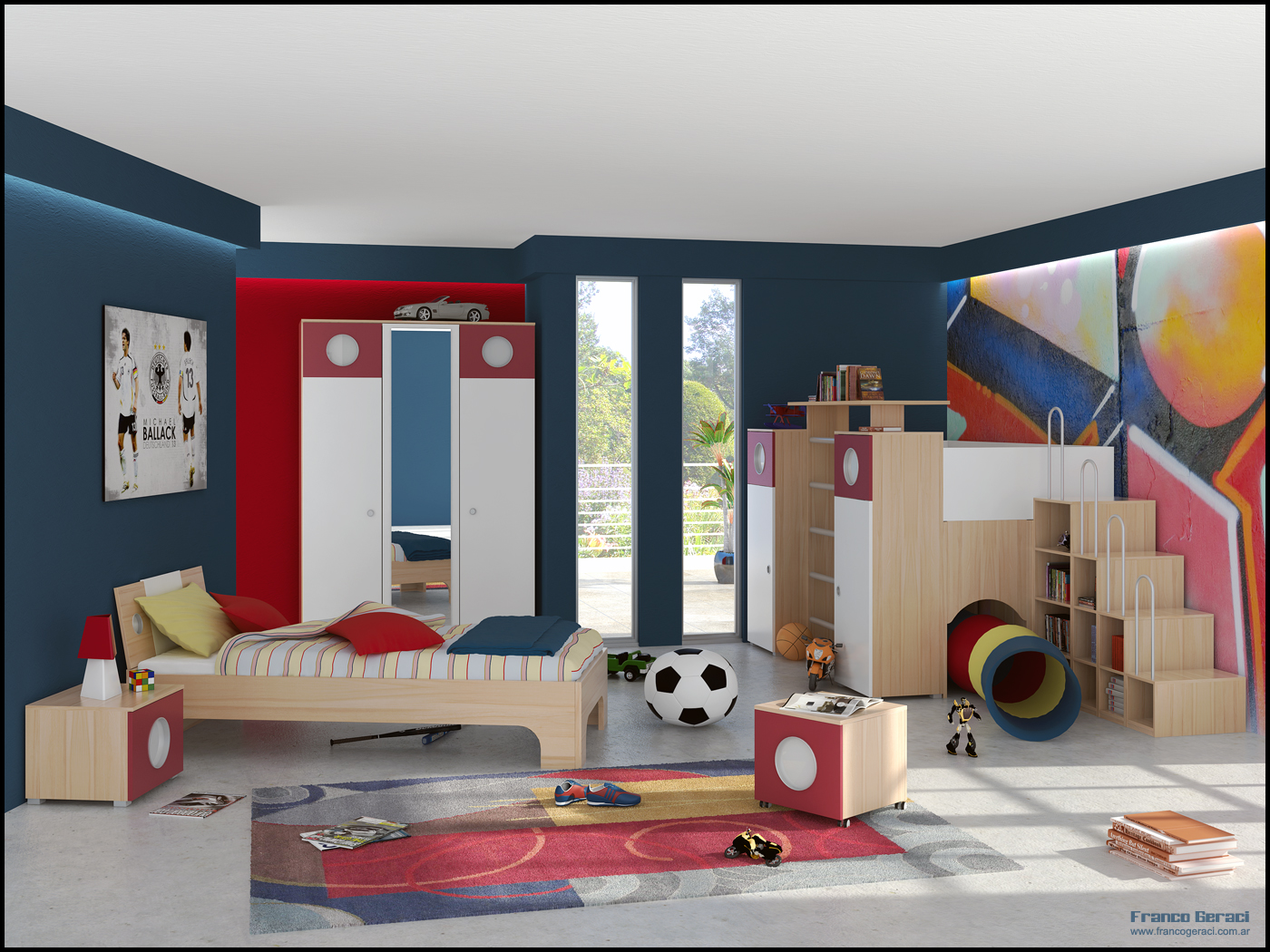 A Spacious Kids Room Kids Room Inspiration Image 10 Interior