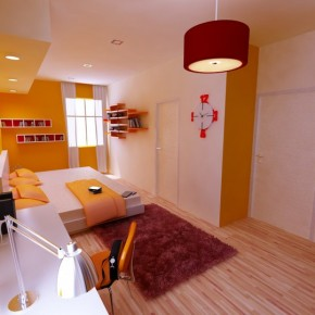 An Orange Warm Room  Kids Room Inspiration  Pict  8