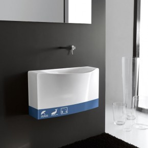 Back+decoro 6298 Blu  Bringing Creativity into the Bathroom with Meneghello Paolelli Associati