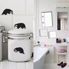 Badger Notepad Wall Stickers  Kids Wall Stickers  Image  8