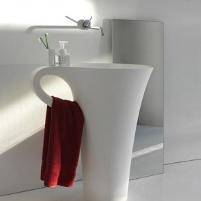 Basin Integrated Towel Rail  Unique Bathrooms by ArtCeram  Wallpaper 4
