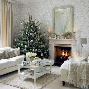 Beautiful Christmas Tree Decorations 10 Beautiful Christmas Tree Decorating Ideas Photo 1