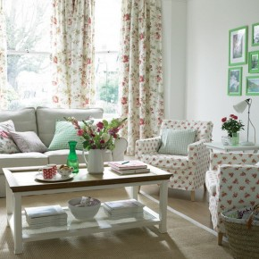 20 Summer Country Style Living Room Ideas