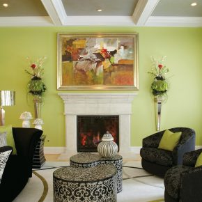 20 Lime Green Living Room Decorating Ideas Interior