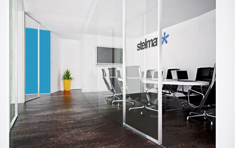 Beautiful office beautiful offices of stelmat for Beautiful modern office design