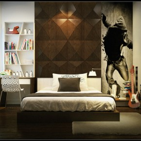 Boys Bedroom1  Warm and Cozy Rooms Rendered By Yim Lee  Pict  9