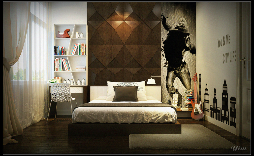 Boys Bedroom1 Warm And Cozy Rooms Rendered By Yim Lee Pict