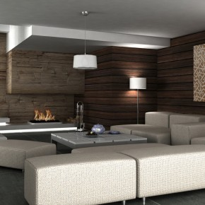 Brown Wooden Interiors  Moody Melancholic Interiors  Picture  14