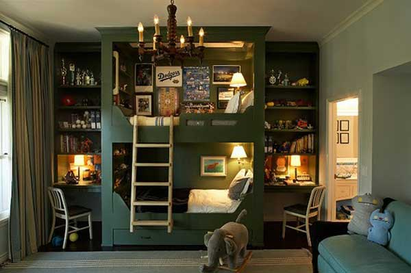 The Best 30 Fresh Space-Saving Bunk Beds Ideas