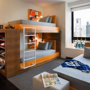 Bunk Beds 12 30 Fresh Space-Saving Bunk Beds Ideas For Your Home Image 12