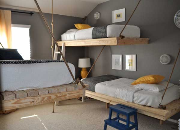 Bunk Beds 24 30 Fresh Space-Saving Bunk Beds Ideas For Your Home ...