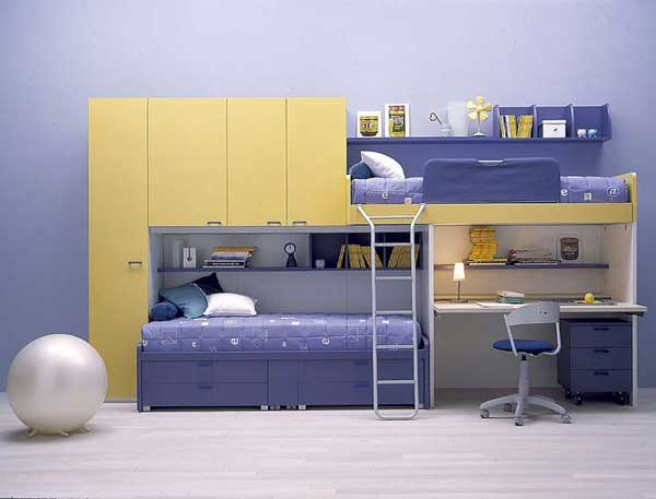 Bunk beds 28 30 fresh space saving bunk beds ideas for for Home space saving ideas