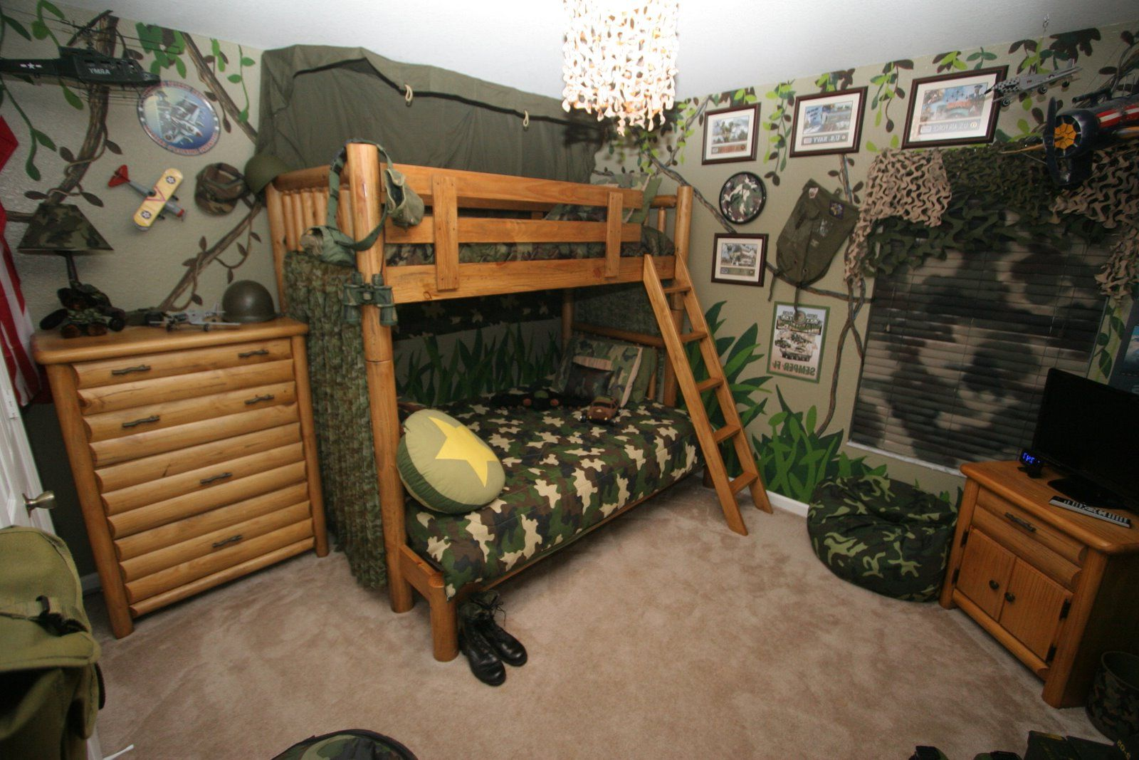 20 Camo Interior Design and Camo Decor Ideas