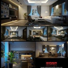 Chic Luxury Apartment  Dream Home Interiors by Open Design  Image  32