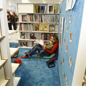 Childrens Nook  The New Stuttgart City Library  Picture  15