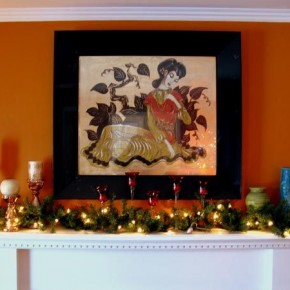 Christmas Decor Wreath 26 Christmas Decorating Ideas for Your Home Image 13