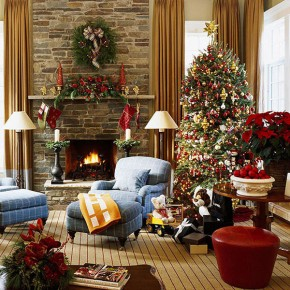 Christmas Living Room 10 33 Christmas Decorations Ideas Bringing The Christmas Spirit into Your Living Room Photo 14