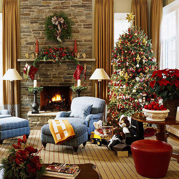 Christmas Living Room 10 33 Christmas Decorations Ideas Bringing The Christmas Spirit Into Your