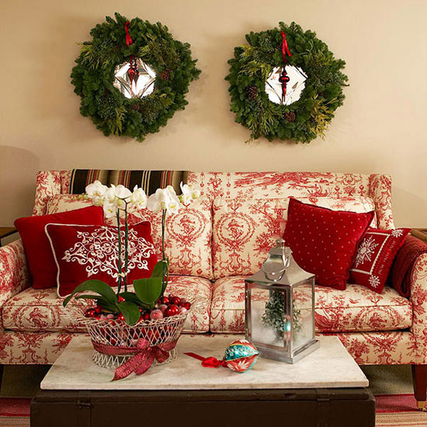 Christmas living room 17 33 christmas decorations ideas for Christmas living room ideas