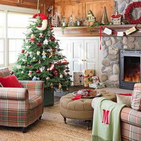 Christmas Living Room 19 33 Christmas Decorations Ideas Bringing The Christmas Spirit into Your Living Room Pict 23