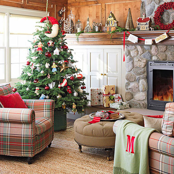 Christmas Living Room 19 33 Christmas Decorations Ideas