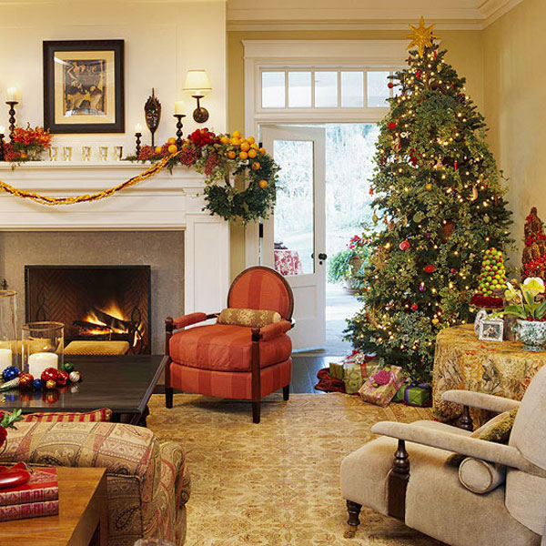 Christmas Living Room 2 33 Christmas Decorations Ideas Bringing The Christmas Spirit Into Your