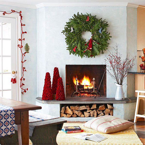 Christmas living room 21 33 christmas decorations ideas Christmas decorations interior design