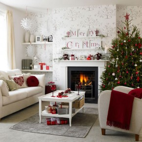 Christmas Living Room 25 33 Christmas Decorations Ideas Bringing The Christmas Spirit into Your Living Room Image 2