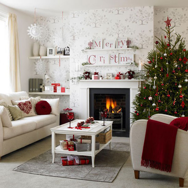Christmas Living Room 25 33 Christmas Decorations Ideas Bringing The Christmas Spirit Into Your
