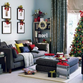 Christmas Living Room 29 33 Christmas Decorations Ideas Bringing The Christmas Spirit into Your Living Room Photo 30