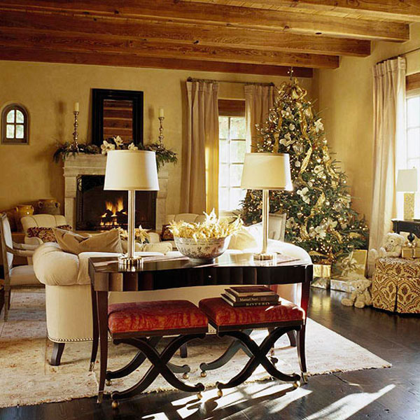 Top Christmas Living Room Decorating Ideas 600 x 600 · 111 kB · jpeg